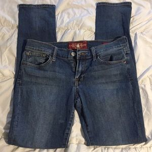 👉 Nice Lucky Brand Charlie Skinny Jeans Size 4/27